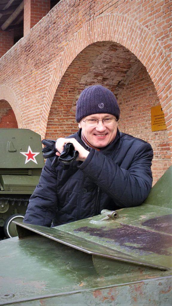Дмитрий Моторин в Нижегородском Кремле