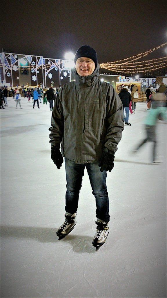 Дмитрий Моторин на катке