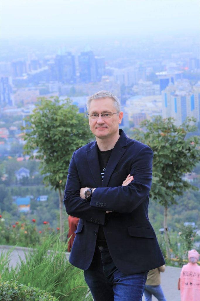 Дмитрий Моторин на Кок Тобе, Алмата, Казахстан