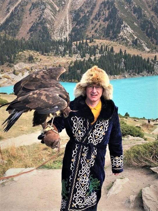 Дмитрий Моторин на БАО, Алмата, Казахстан